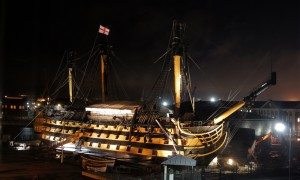 HMS Victory Time-lapse