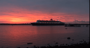 Queen Mary Southampton Water