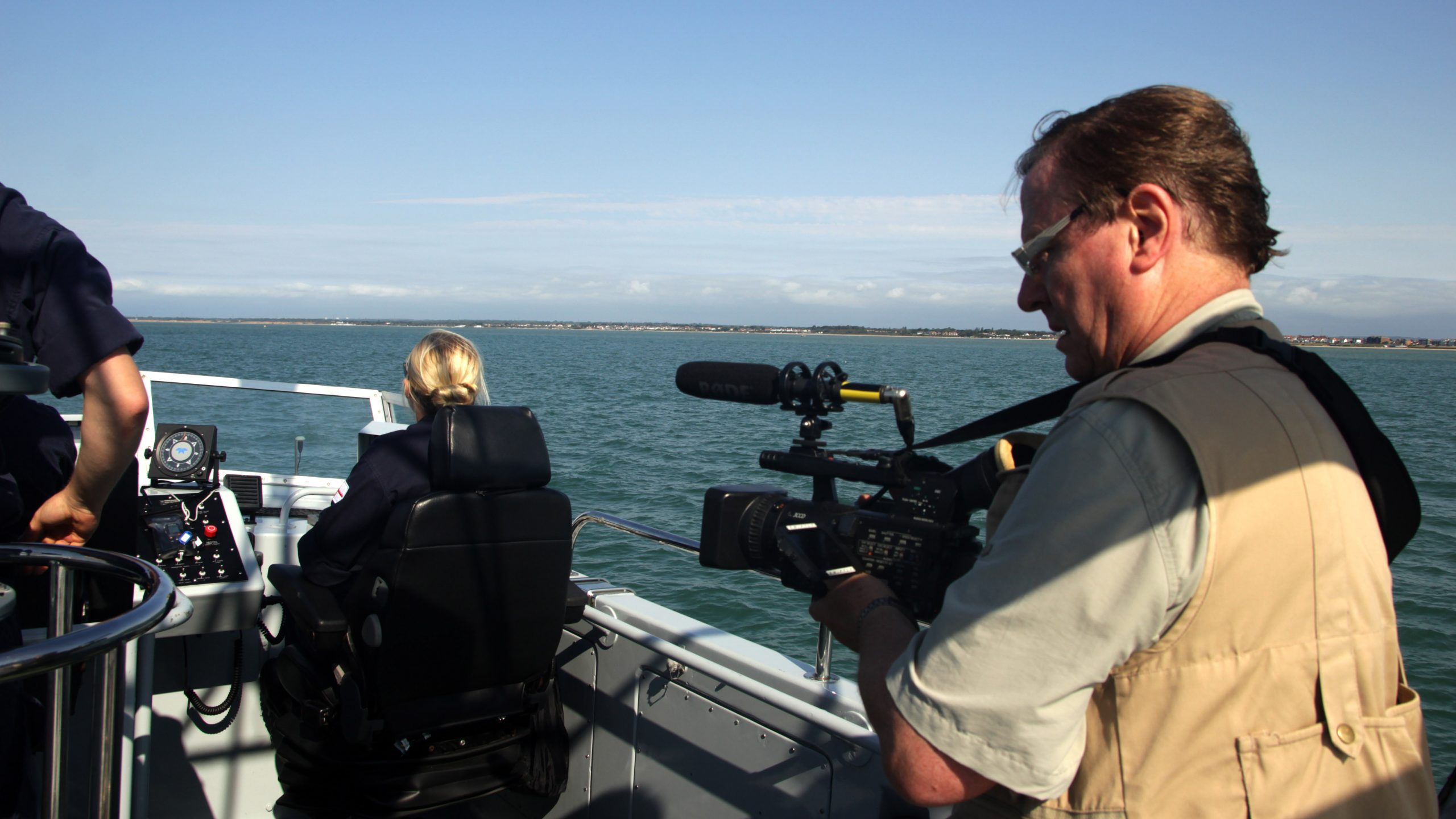 Filming with the Royal Navy on board HMS Exploit